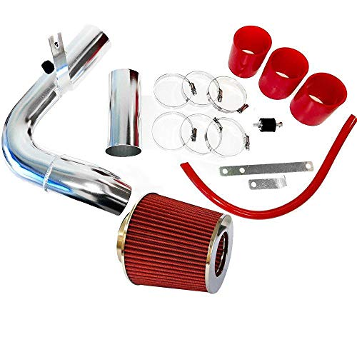 Perfit formance Cold Air Intake Kit with Lifetime Red Oiled Filter fit for 2000-2005 Dodge Neon 2.0L Engine