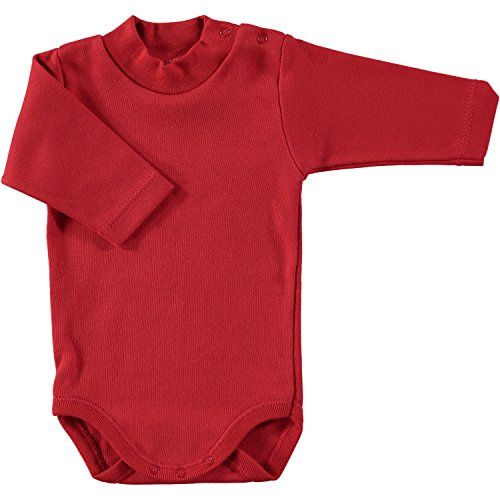 BABIDU Body C.Cisne, Rojo, 6 Meses Bebe-Unisex