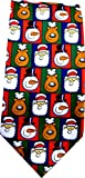 John Ashford Mens Icon of Christmas Dress Necktie (Multi)