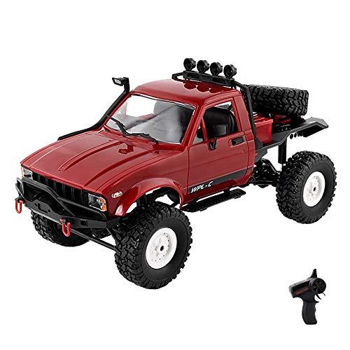Moerc RC camión 1:16 2.4g 4ch Control Remoto Coche 4wd Escalada Coche Juguete Modelo vehículo Off-Road RC camión Tierra Bicicleta niños Escalada Carreras Coches niños Juguetes Regalo niño