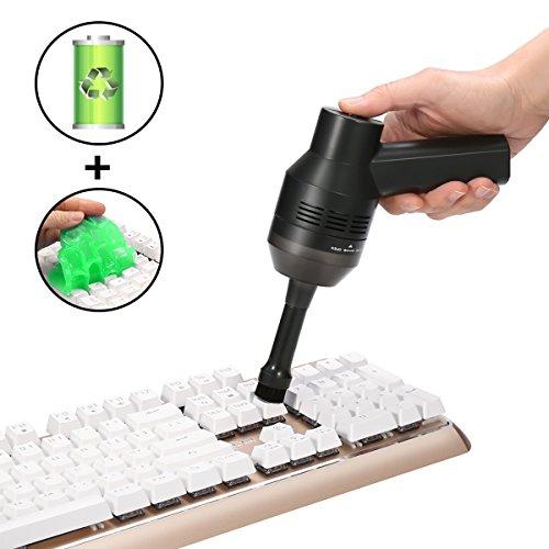 MECO Mini Aspirador de Teclado para Ordenador, Aspiradora