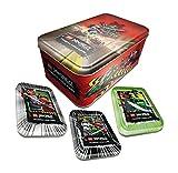 Ninjago leere Tins Dose Box für Sammel Karten, Kleinteile, Minifiguren und Trading Cards -
