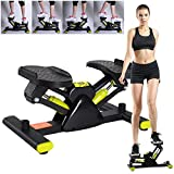 QIANC V-shaped Sport Climbing Machine,Stair Stepper,Mini multifunctional weight-loss fitness equipment,Indoor Mini Exercise Machine for Home and Office