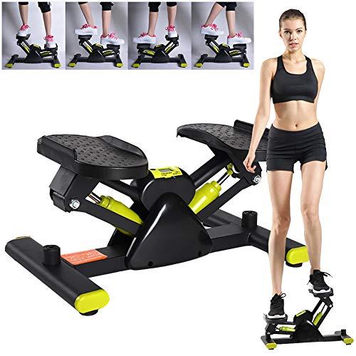 QIANC V-förmige Sportklettermaschine,Crosstrainer für Bewegung,Indoor-Mini-Trainingsgerät für Heim und Büro