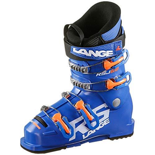 Lange Kinder RSJ 60 Skischuhe blau 25.5