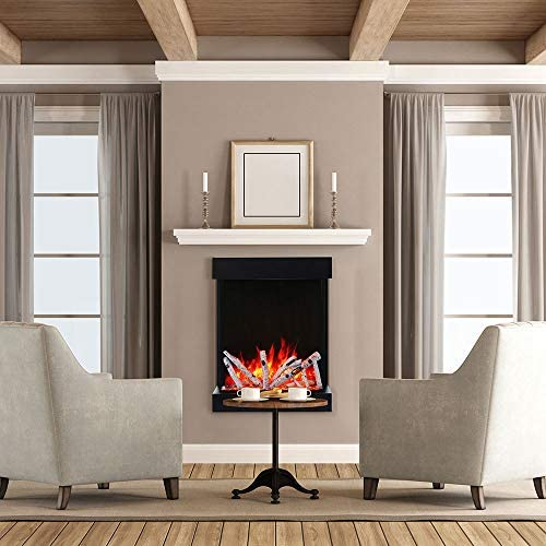 Amantii Tru View Series 3 Sided 29 Inch Indoor Outdoor Electric Fireplace with Logs 2939 TRU product image