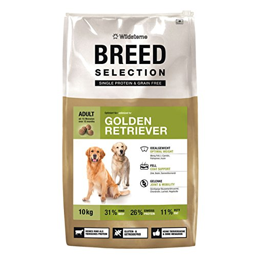 Wildsterne Breed Selection Golden Retriever, 10 kg, 1er Pack (1 x 10000 grams)
