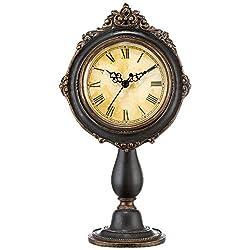 Kensington Hill Dailey 11 1/4 High Vintage Traditional Table Clock
