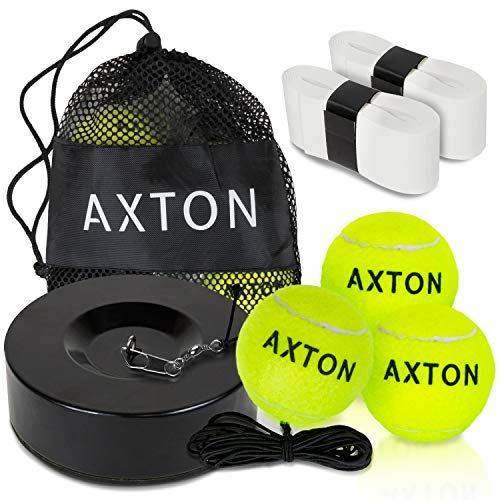 AXTON Solo Tennis Trainer Rebound Ball