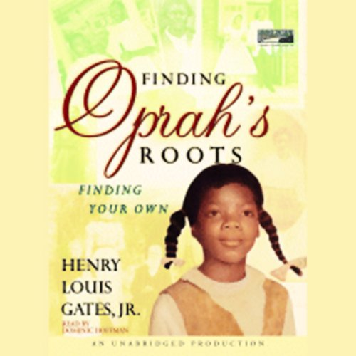Finding Oprah's Roots audiobook cover art
