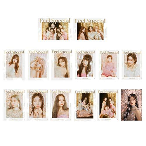 huanggua Effectieve 14 TWICENew Album Crystal Bus Card Stickers Ons Hot Koop voor Vrouwen A
