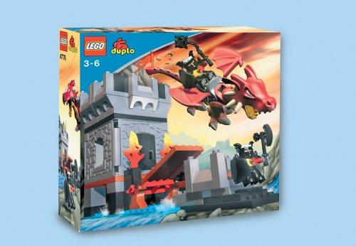 LEGO Duplo Burg 4776 - Drachenturm