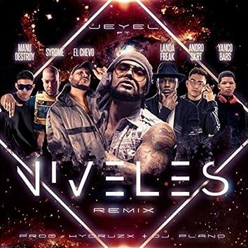 Niveles (Remix) [feat. El Chevo, Syrome, Manu Destroy, Andro Skrt, Landa Freak & Yanco Bars]