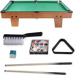 Jaune Gwxevce 2 Pcs 145 cm American Snooker Bois Queue De Piscine Assembler Enfants Adulte Maison Billard Formation Divertissant Outils Fournir