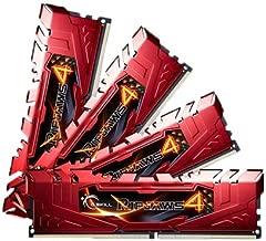 32GB G.Skill Ripjaws 4 DDR4 2133MHz PC4-17000 CL15 Quad Channel kit (4x8GB) Red