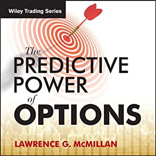 'The Predictive Power of Options' with Larry McMillan audiobook cover art