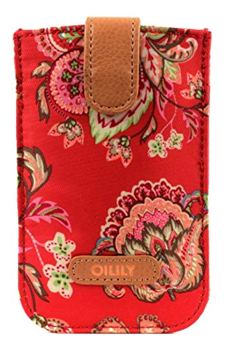 Oilily Summer Flowers Smartphone Pull Case Rose