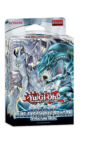Konami 34197 - Yu-Gi-Oh Saga of Blue-Eyes, White Dragon Structure Deck