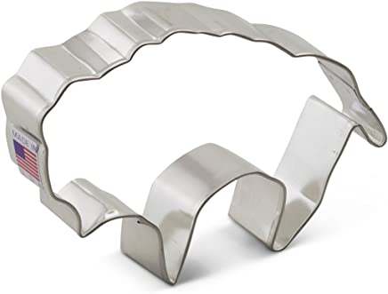 Ann Clark Buffalo Cookie Cutter - 4.25 Inches - Tin Plated Steel