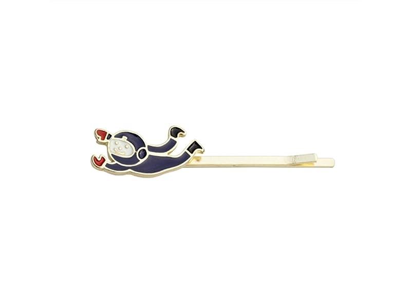 側溝なだめるリスキーなOsize 美しいスタイル カラープラネットウサギ宇宙飛行士ヘアクリップサイドクリップヘアピンヘアアクセサリー(宇宙飛行士)