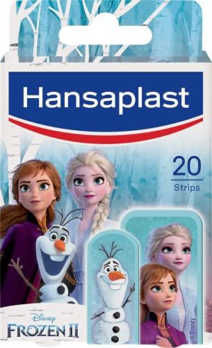 Hansaplast Kids FROZEN 2 Kinderpflaster (20 Strips), Wundpflaster mit Disney-Motiven zum Aufmuntern, schmerzlos zu entfernendes Pflaster Set