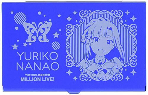 アイドルマスター ミリオンライブ! 七尾百合子 メタルカードケース 5