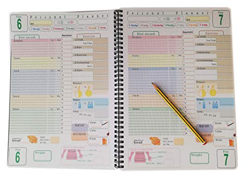 Verde Pinhan Creative Plan Book 100 Giorni Conto alla rovescia Calendario Pianificazione Giornaliera Cancelleria Carta As show