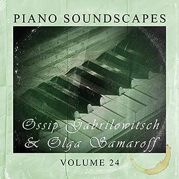 Piano SoundScapes Vol, 24: Ossip Gabrilowitsch & Olga Samaroff