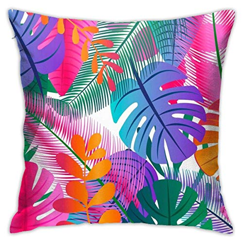 maichengxuan Tropical Partner Throw Pillow Cover, Pillowcases, Floor Pillowcases, Sofas, Cushion Covers, Car Cushion Backrest Covers