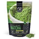Jade Leaf Organic Matcha Green Tea Powder - Authentic Japanese Origin - Culinary Grade - Premium 2nd Harvest [8.8oz]
