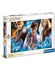 Clementoni 35082 Harry Potter-puzzelstukjes, gemaakt in Italië, 500 stuks