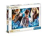 Clementoni- PZL 500 HQC Harry Potter Puzzle Adulto, Multicolor (35082)