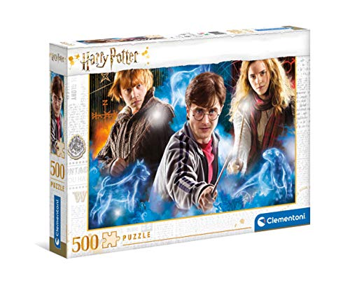 Clementoni Harry Potter-puzzle adulti 500 pezzi, Made in Italy, Multicolore, 35082