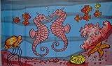 Seepferdchen Fahne Flagge Seepferd Kinderfahne Gr. 1,50x0,90m - FRIP –Versand®