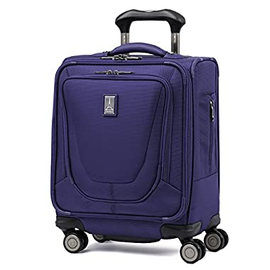 Travelpro Luggage Crew 11 16  Carry-on Spinner Tote, Indigo