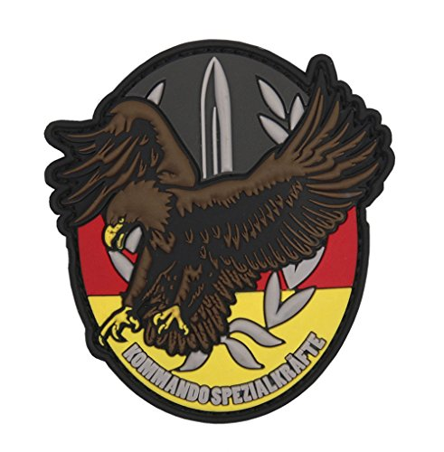 Command Special Forces KSK Adler Germany Sword Special Forces Army 8x7cm - 3D Rubber Patch