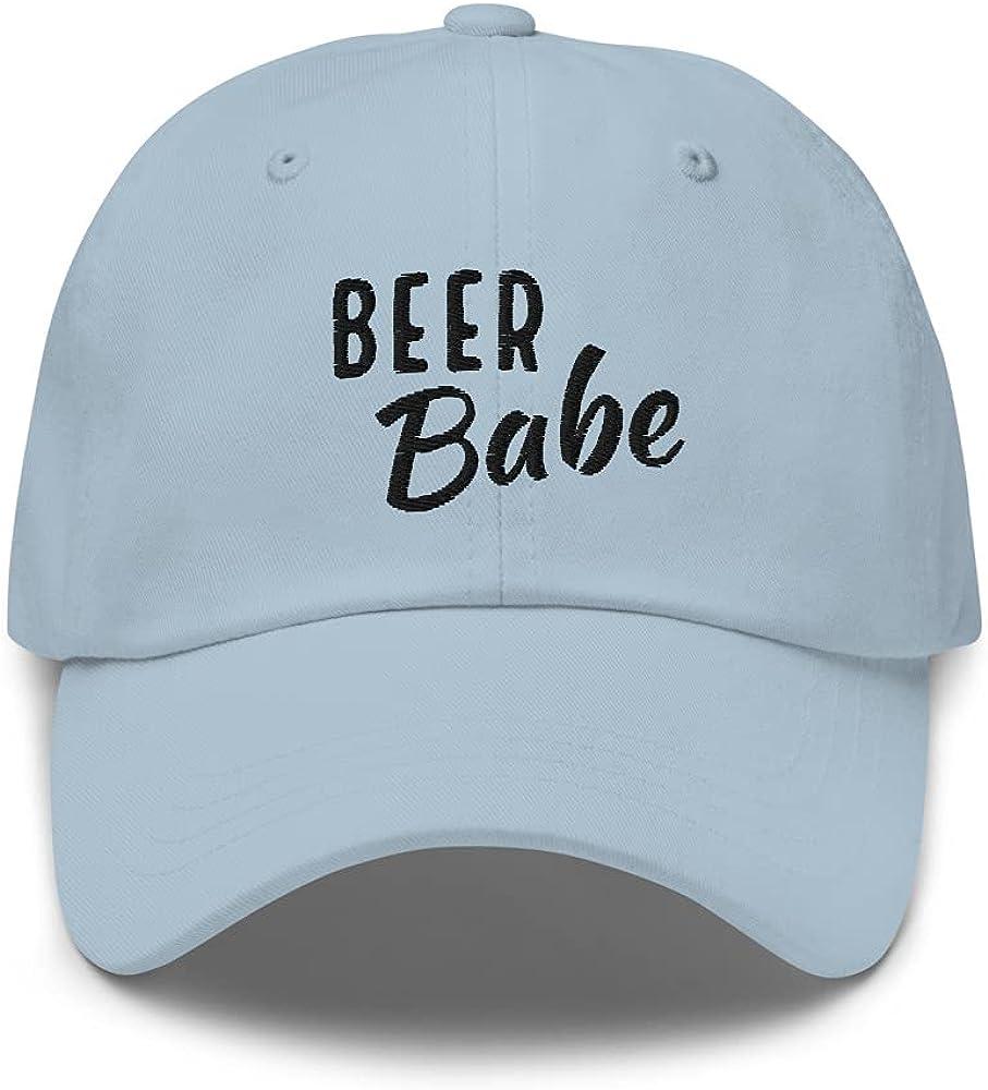 Beer Babe - Women's Beer Hat, Beer Girl Baseball Cap, Beer Babe Funny Cute hat