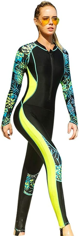 Quality inspection Women's Department store Sun Protective Siamese Long Wetsuit Suitable Sleeve for