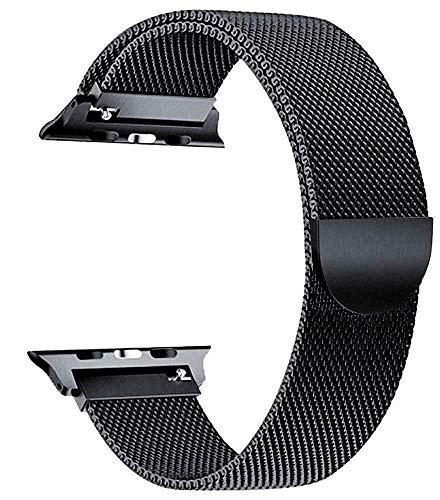 Correa magnética de acero inoxidable para Apple Watch de 38 mm y 40 mm de metal para iWatch Series 6/5/4/3/2/1