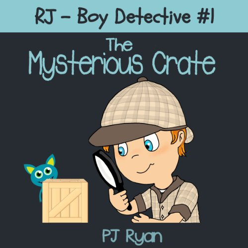 RJ - Boy Detective #1 audiobook cover art