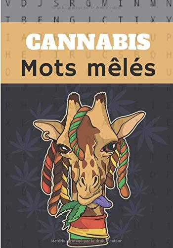 Cannabis mots mêlés: Puzzle stimulant, Livre d'activités Pour adulte | 40 puzzles avec recherche de mots et brouillons | Trouvez plus de 400 mots`| ... | Cadeau amusant pour Stoner, amis, famille.