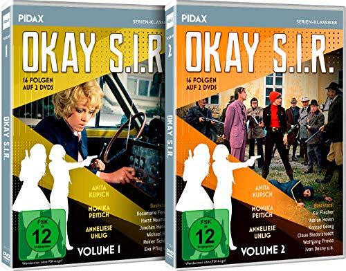 Okay S.I.R. - Gesamtedition / Die komplette 32-teilige Krimiserie auf 4 DVDs (Pidax Serien-Klassiker)