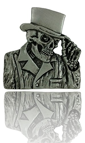 Daywalker Bikestuff Reaper Pin Top Hat Top Hat Skull Zylinder DW0039 Tod Free-Biker Chopper