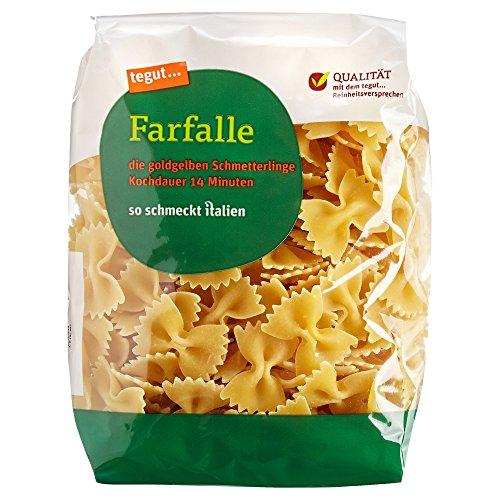 tegut... Italienische Nudeln Farfalle, 500 g
