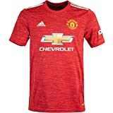 adidas Manchester United Home Trikot (XXL, red)