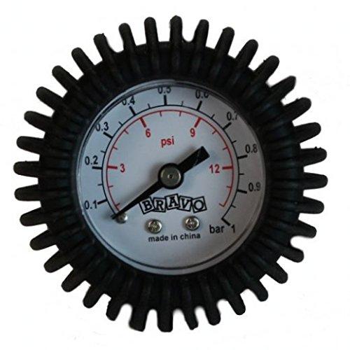 Bootskiste Manometer 1,0 bar für Halkey Roberts Schlauchbootventil