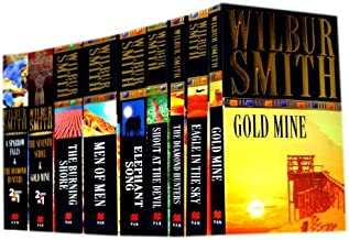 Wilbur Smith 9 Books Collection Pack Set RRP: £69.91 (Shout at the Devil, The Diamond Hunter, Men Of Men, Gold Mine, Eagle...