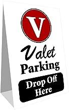 valet parking sign stands