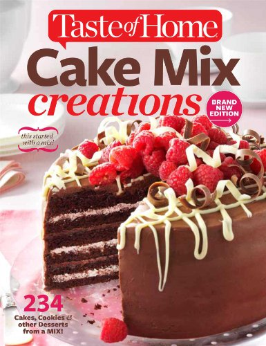 Taste of Home Cake Mix