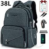 Larger Capacity Diaper Bag Multi-Function Travel Backpack Waterproof Nursing Bag Mummy Maternity Ba